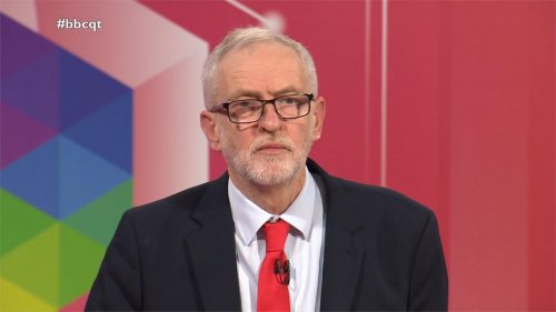 General Election 2019 - BBC Question Time - Leaders (29)