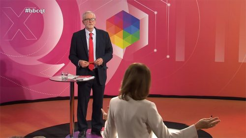 General Election 2019 - BBC Question Time - Leaders (31)