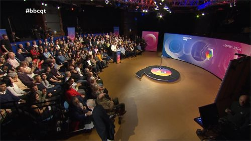 General Election 2019 - BBC Question Time - Leaders (34)