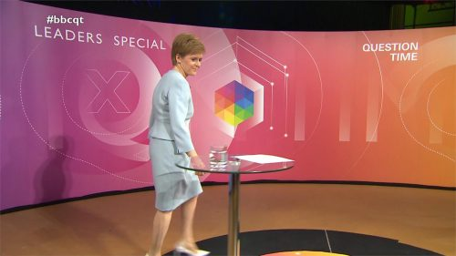 General Election 2019 - BBC Question Time - Leaders (36)
