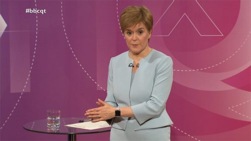 General Election 2019 - BBC Question Time - Leaders (45)