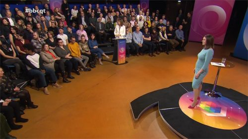 General Election 2019 - BBC Question Time - Leaders (57)