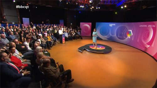 General Election 2019 - BBC Question Time - Leaders (64)