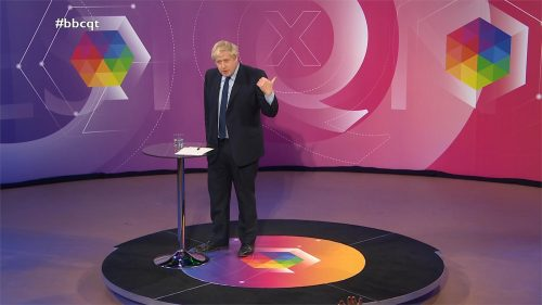 General Election 2019 - BBC Question Time - Leaders (85)