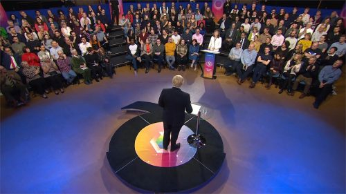 General Election 2019 - BBC Question Time - Leaders (88)