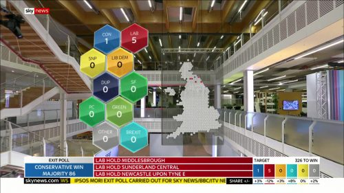 General Election 2019 - Sky News Presentataion (124)