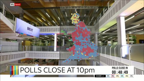 General Election 2019 - Sky News Presentataion (31)