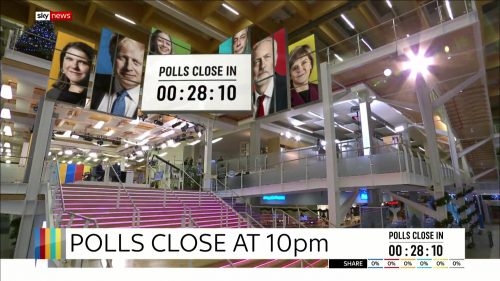 General Election 2019 - Sky News Presentataion (40)