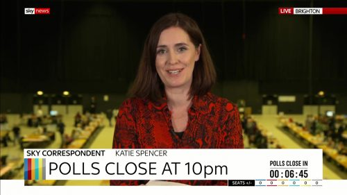 General Election 2019 - Sky News Presentataion (54)