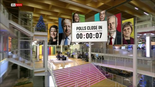General Election 2019 - Sky News Presentataion (64)