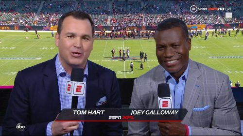 Tom Hart - XFL on ABC ESPN (1)