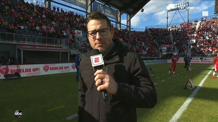 Tom Luginbill - XFL on ABC ESPN (2)