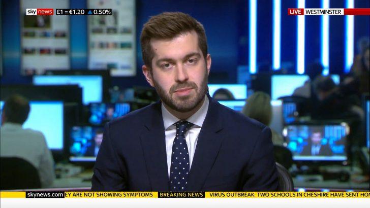 Joe Pike - Sky News Politcal Correspondent 2020 (2)