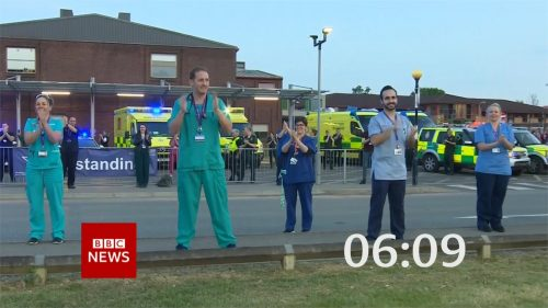 Clap for Carers - BBC News Countdown 2020 (19)