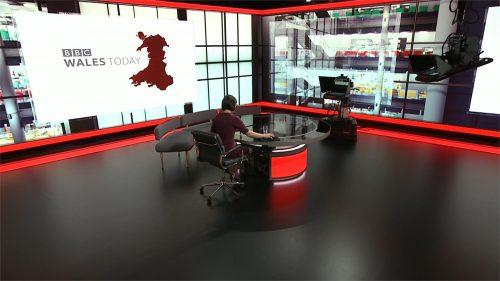 BBC Wales Today 2020 - New Studio - Evening (14)