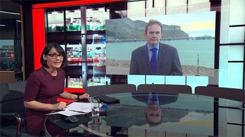 BBC Wales Today 2020 - New Studio - Evening (5)