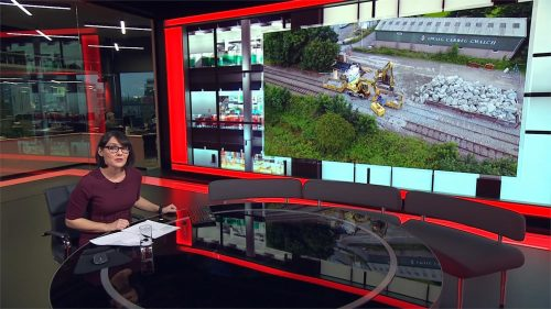 BBC Wales Today 2020 - New Studio - Evening (8)