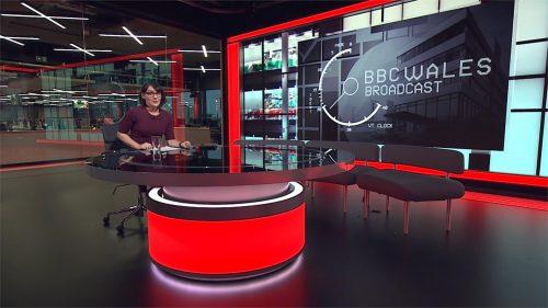 BBC Wales Today 2020 - New Studio - Evening (9)