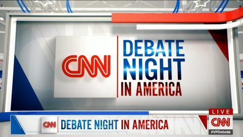 CNN HD Debate Night in America - Vice Presidential Debate 2020 (12)