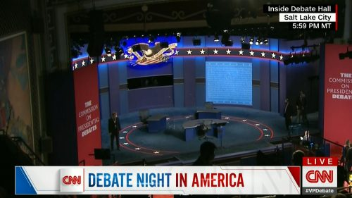 CNN HD Debate Night in America - Vice Presidential Debate 2020 (13)