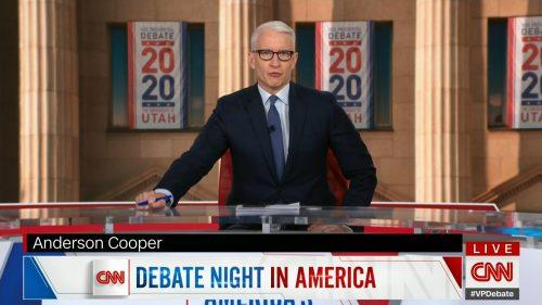 CNN HD Debate Night in America - Vice Presidential Debate 2020 (14)
