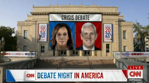 CNN HD Debate Night in America - Vice Presidential Debate 2020 (16)