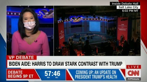 CNN HD Debate Night in America - Vice Presidential Debate 2020 (19)