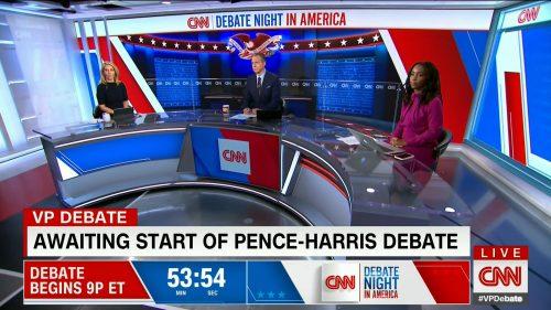 CNN HD Debate Night in America - Vice Presidential Debate 2020 (20)