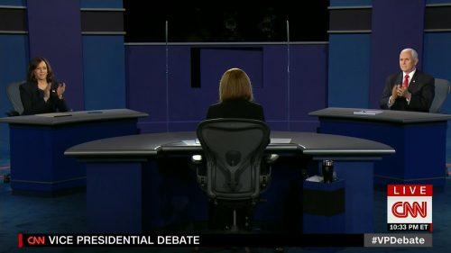 CNN HD Debate Night in America - Vice Presidential Debate 2020 (27)