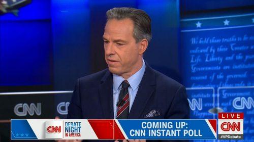 CNN HD Debate Night in America - Vice Presidential Debate 2020 (29)