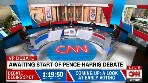 CNN HD Debate Night in America - Vice Presidential Debate 2020 (3)