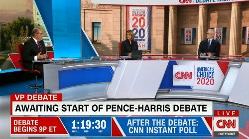CNN HD Debate Night in America - Vice Presidential Debate 2020 (4)