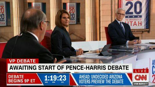 CNN HD Debate Night in America - Vice Presidential Debate 2020 (5)