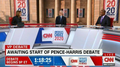 CNN HD Debate Night in America - Vice Presidential Debate 2020 (6)