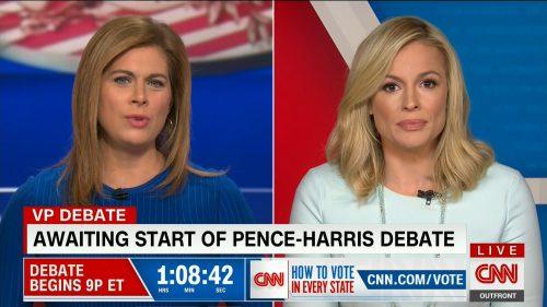 CNN HD Debate Night in America - Vice Presidential Debate 2020 (9)