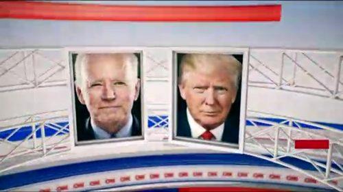 CNN Presidential Debate - US 2020 (3)
