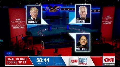 CNN Presidential Debate - US 2020 (35)