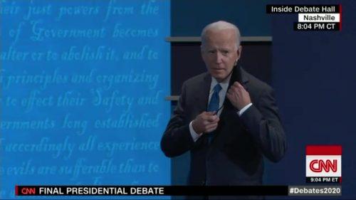 CNN Presidential Debate - US 2020 (56)