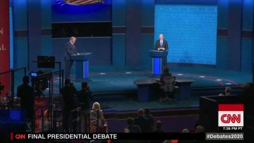 CNN Presidential Debate - US 2020 (60)