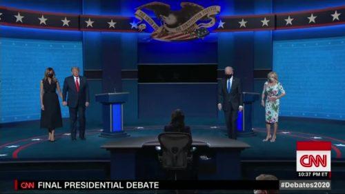 CNN Presidential Debate - US 2020 (63)