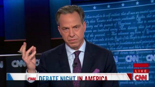 CNN Presidential Debate - US 2020 (65)