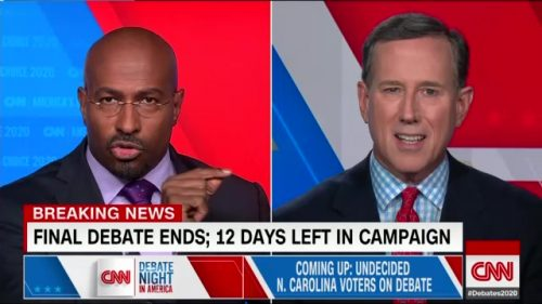 CNN Presidential Debate - US 2020 (69)