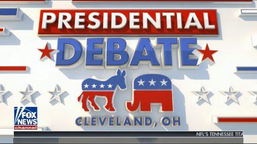 Fox News Presidential Debate 2020 (1)