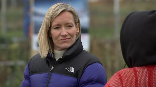 Rebecca Barry in America for ITV News