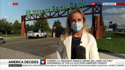 Sally Lockwood reporting from Philadelphia
