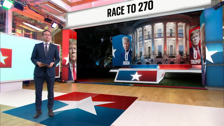 Sky News - US Election 2020 - Ed Conway at VR