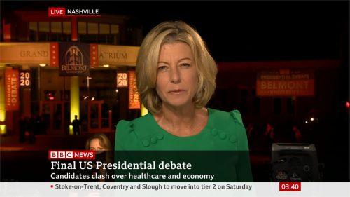 US Election 2020 - BBC News - Final Debate (31)