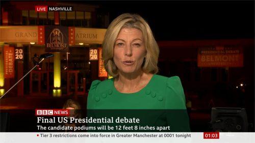 US Election 2020 - BBC News - Final Debate (7)