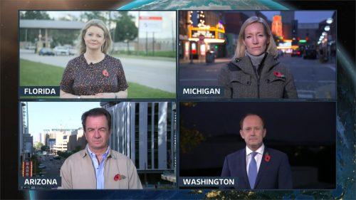 ITV News at Ten from Washington