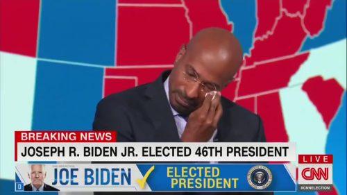 CNN Van Jones in tears